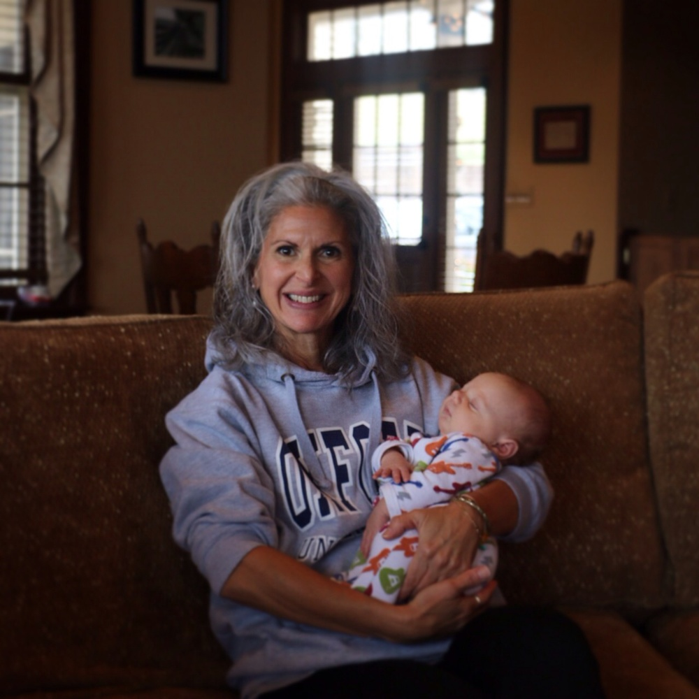 Gram and her youngest grand baby (out of the womb, anyway) Logan Wyatt ^^