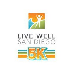 Charity Run DJ, Live Well 5K, San Diego