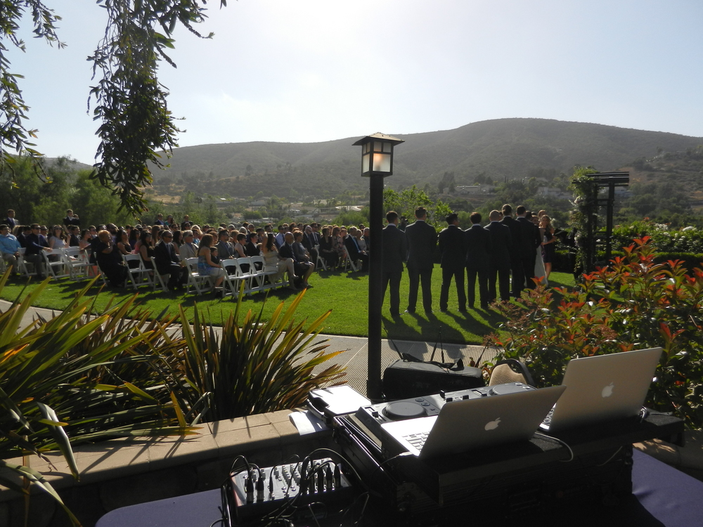 Wedding Ceremony Sound - Twin Oaks Gold Course, San Diego