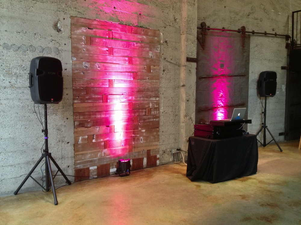 LED Uplighting - Private Party - Luce Loft, San Diego