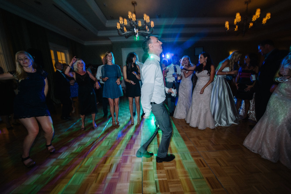 Wedding dance floor lighting - Park Hyatt Aviara Resort, Carlsbad