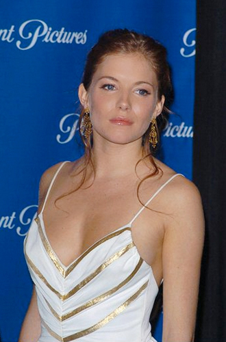 Actress Sienna Miller, Hair and Makeup Artist Mary Rockwood-Crabtree
