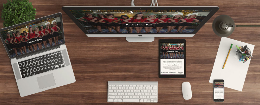Recent Projects   Saskatoon Salsa Website Build