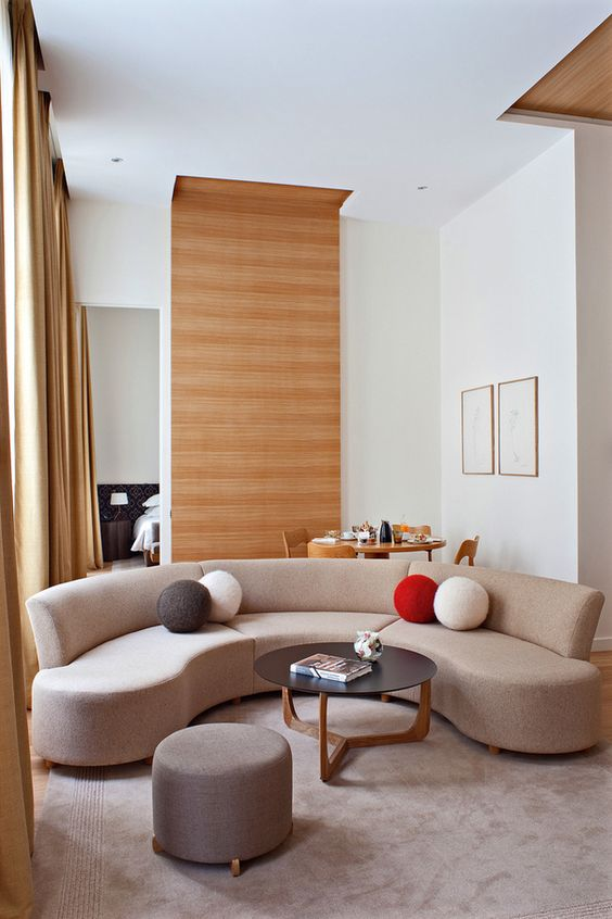 """Very chic but restrained, minimal in its way but still warm."" - -Pierre Yovanovitch, describing French style"