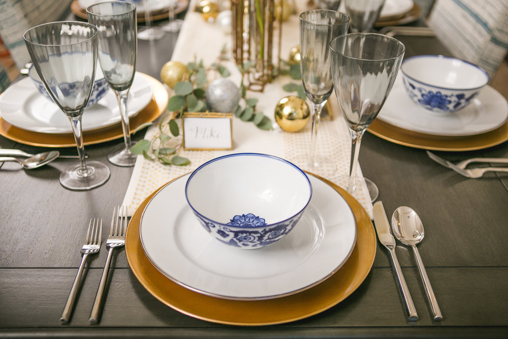 Holiday Table Setting — Hibner Design Group