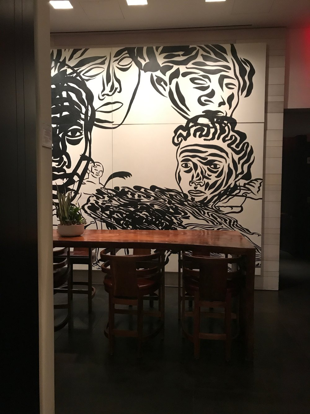 Love this mural at Andaz