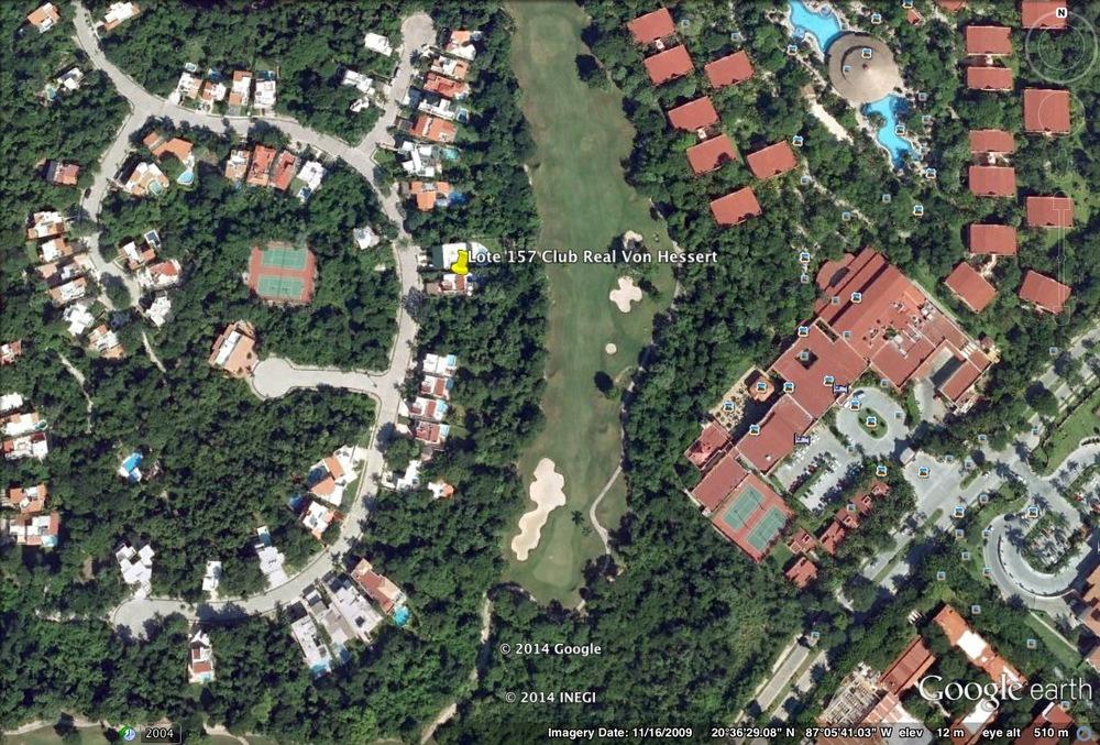 Casa VonHessert - Lote 157 of Club Real in Playacar Phase II