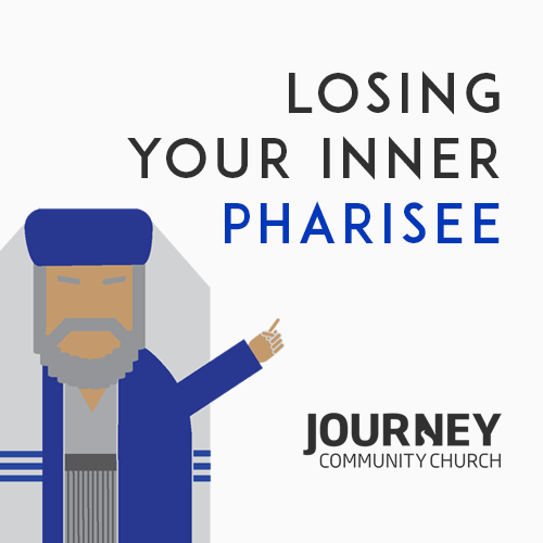 losing my inner pharisee