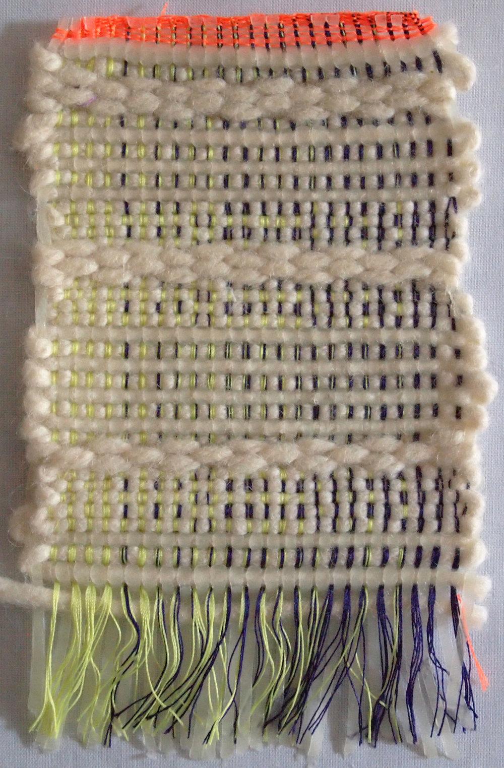 Hand Woven  Nylon thread,Wool
