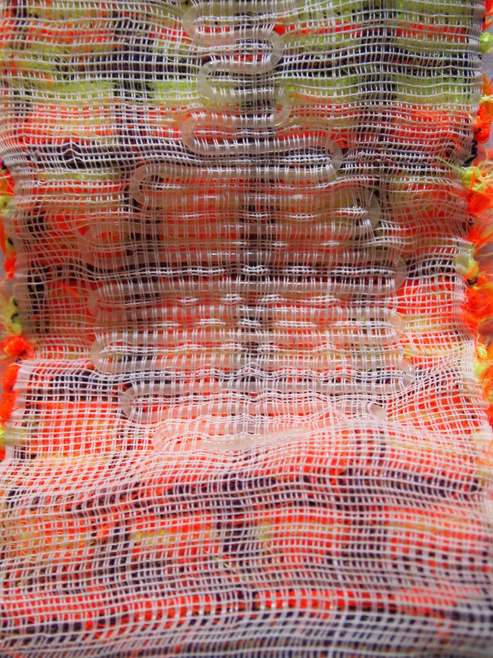 Hand Woven  Nylon Thread, Nylon Elastic, Acrylic, Polyester, Monofilament