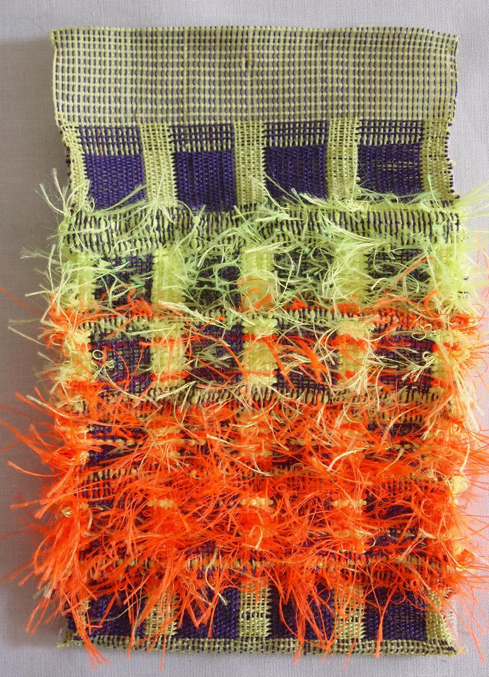 Hand Woven  Nylon thread, Acrylic, Monofilament, Glow-in-the-dark Plastic Cord