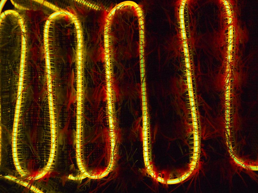 Hand Woven  Nylon Thread, Nylon Elastic, Acrylic, Polyester, Monofilament, LED Wire