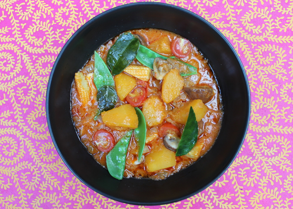 Red Thai Pumpkin Curry