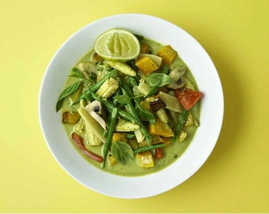 Green Thai Vegetable Curry Photo: Dan Jones