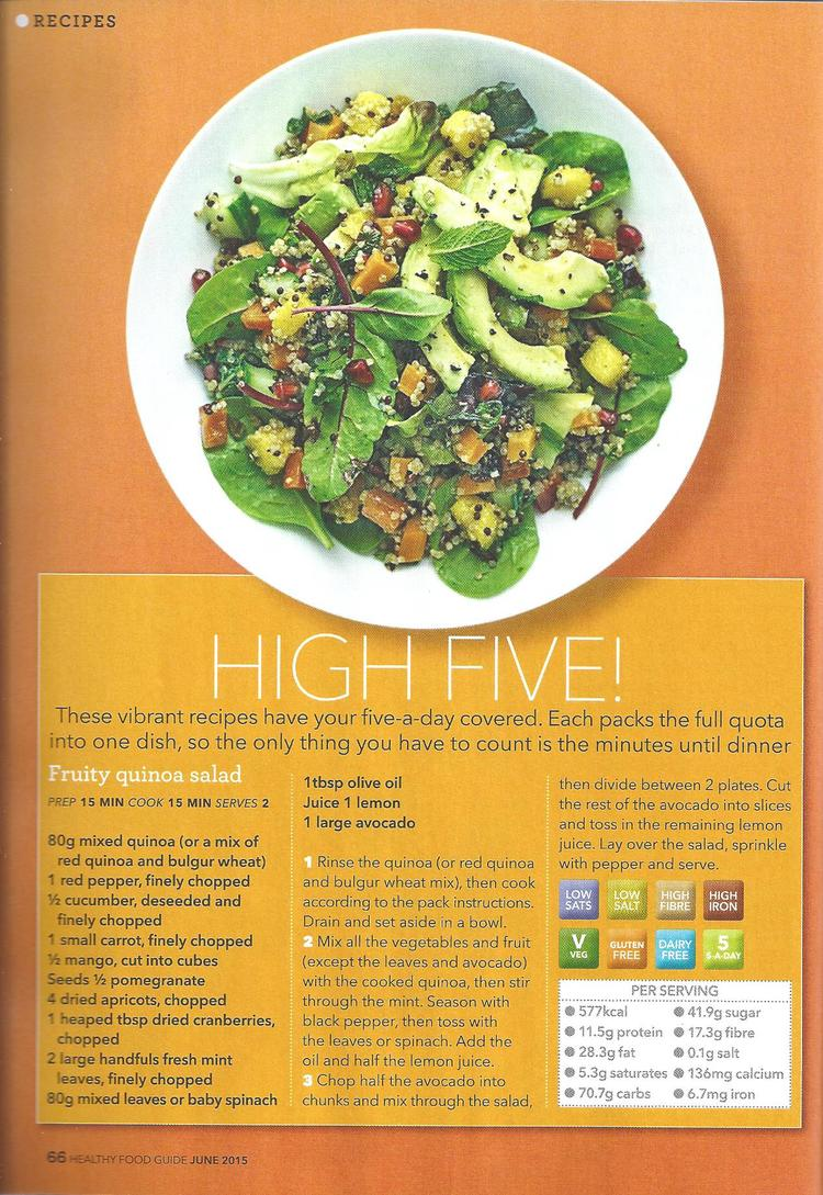Healthy food guide thrive on five healthyfood 1g forumfinder Gallery