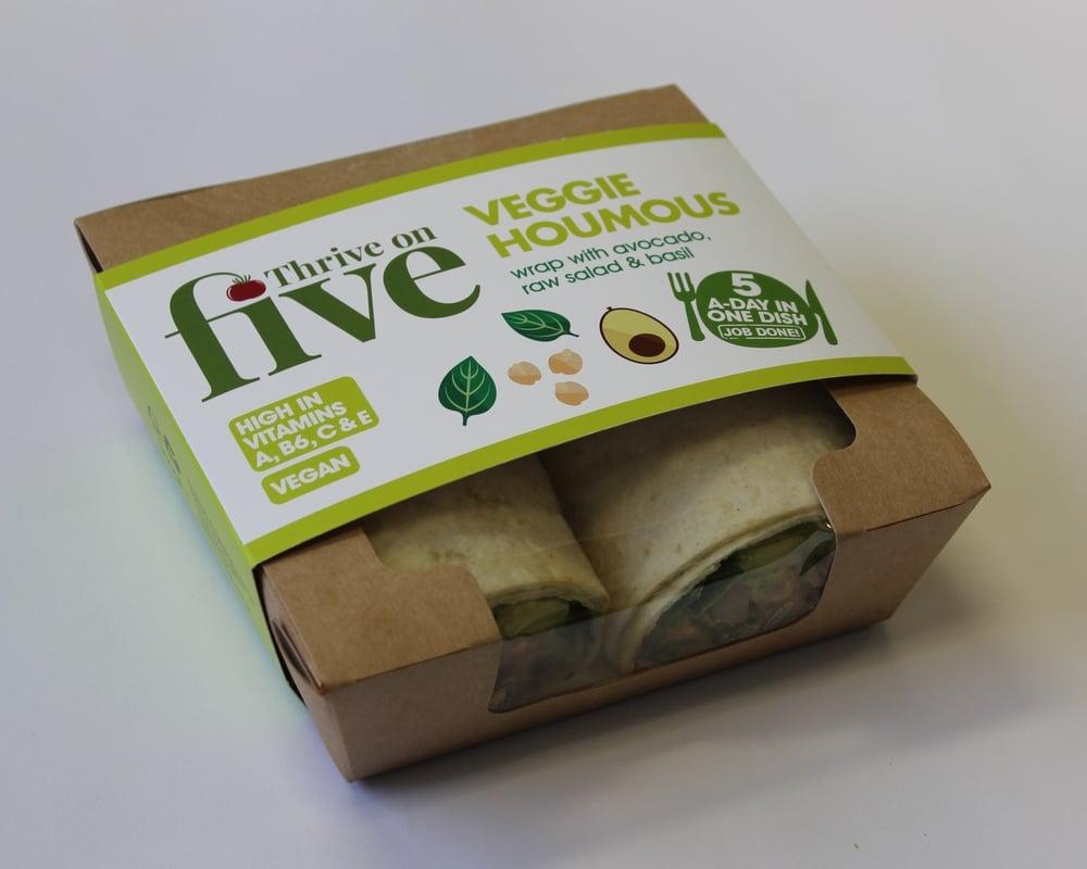 Veggie Houmous Wrap