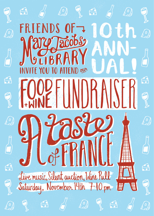 Poster for the Mary Jacobs Library