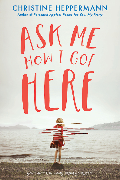 Hand lettering for Ask Me How I Got Here, published by Greenwillow books, an imprint of HarperCollins