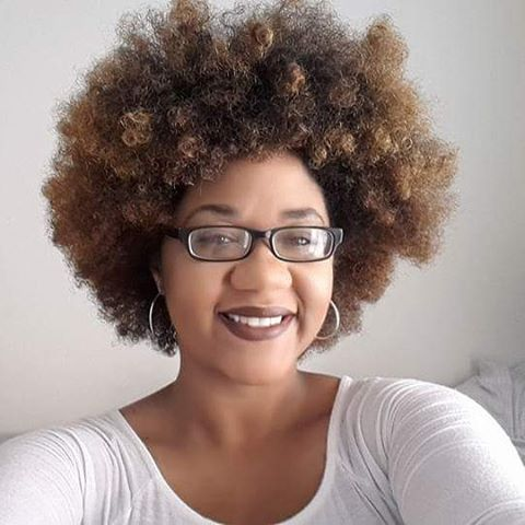 "When life is like, ""Hey. It's me. Go be great!"" And your fro is like, ""Yeah girl, I already got you!"" 😍"
