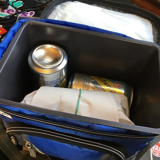 Pack a lunch for the studio session like an Adult #dangerroom