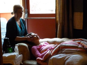 Each woman receive personalized care and works with one hands on practitioner and Pamela Madsen for their entire stay.  A complete intake and interview with each woman is given by all three core staff members and follow up support to the retreat is offered.