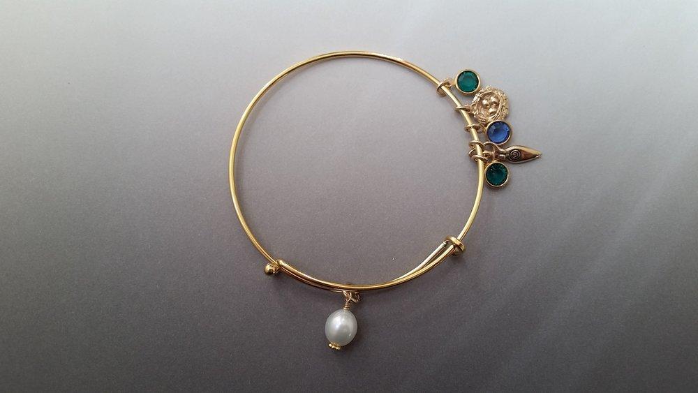 Custom-made bracelet by Noriko Kawamoto