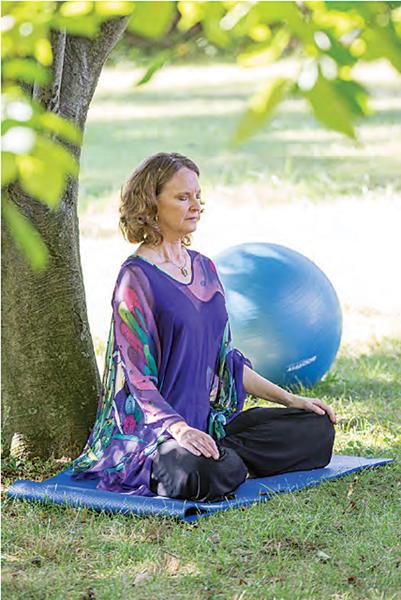 Mel Meditating