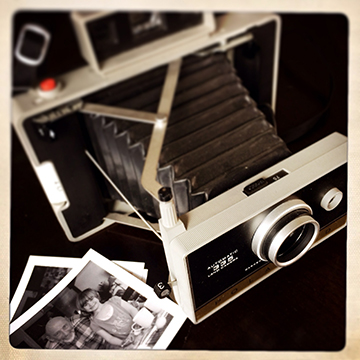 My first instant camera.