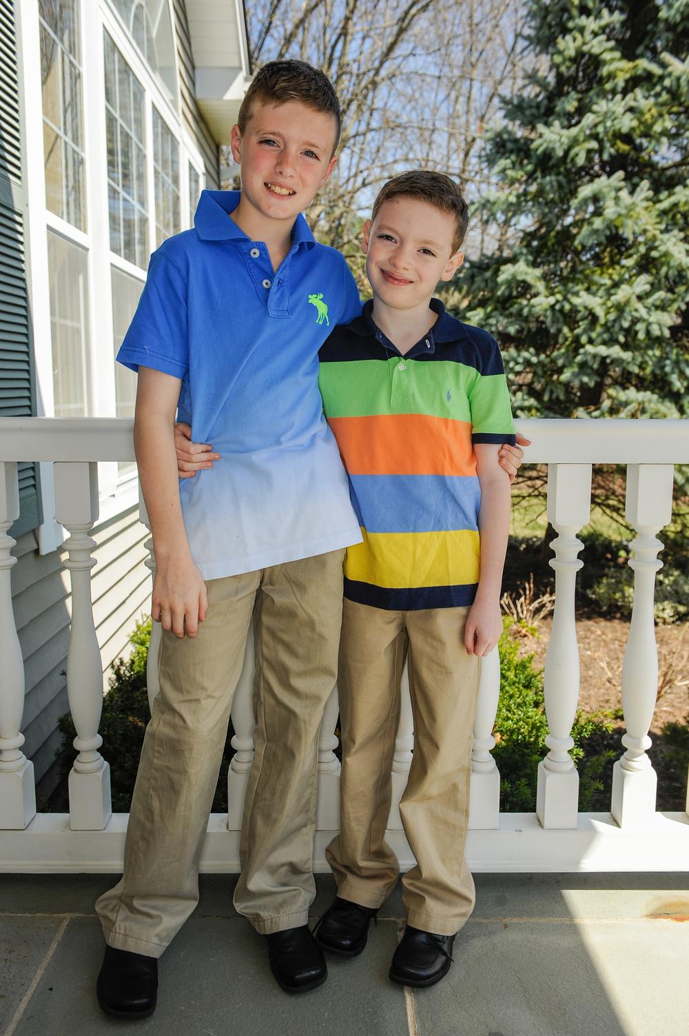 Tristan & Aidan Easter 2014