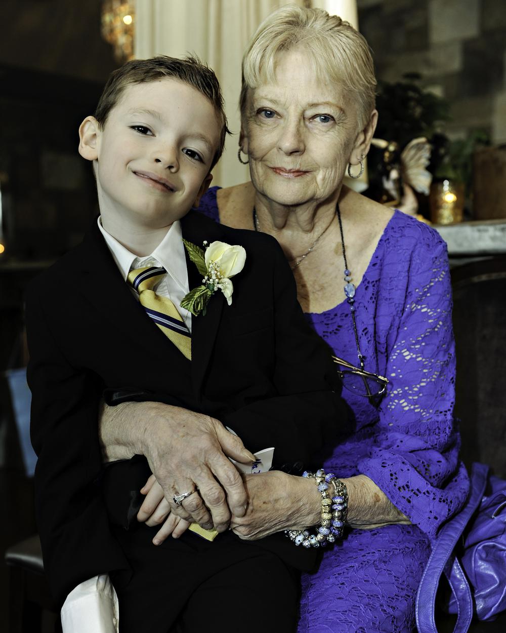 Mom & Aidan
