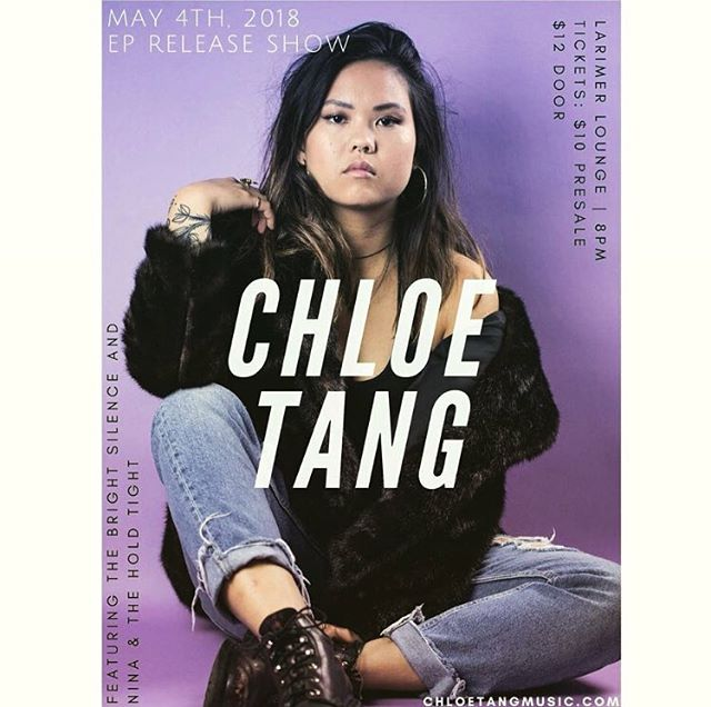 Join us tomorrow night to celebrate the release of @chloetangmusic's Stranger EP Release!  #tanggang #chloetang #stranger