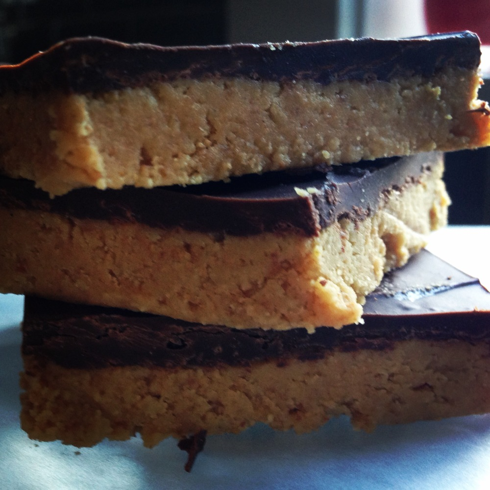 Classic Chocolate Peanut Butter Bars