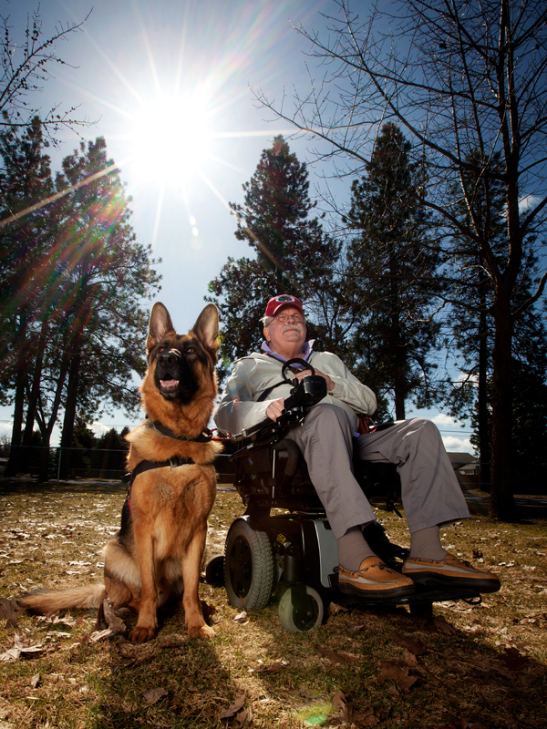 We needed photos of my father and his service dog. Brady came out with Jerry and joined us at the dog park. The images he captured of my dad and Gunner showed not just what is visible on the outside but also the wonder of their personalities. Brady made us feel comfortable and a part of the family. When my dad passed away Brady was one of the first few I contacted knowing how much my father respected him and his work. Thanks to Brady, we had a beautiful memorial picture to show the happiness my dad had especially that day.  Cat