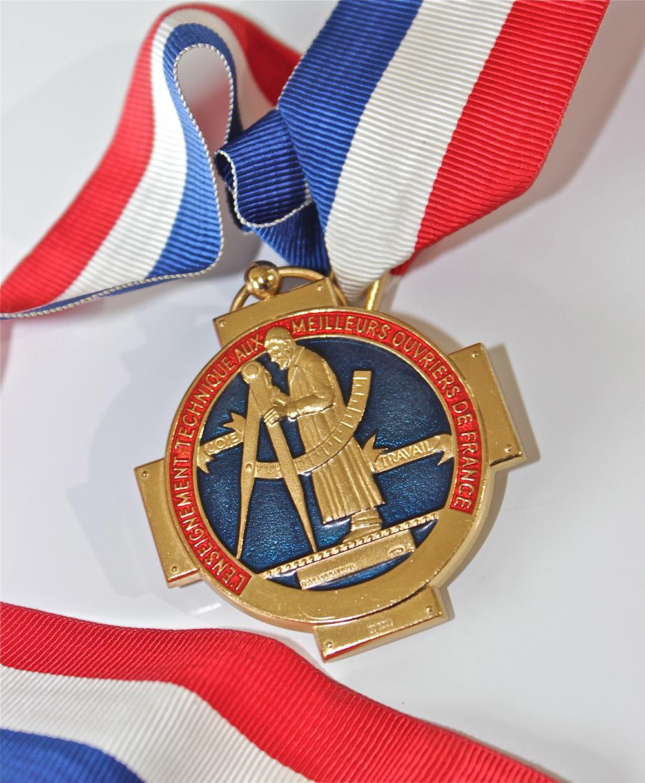 Stéphane Tréand's M.O.F. Award
