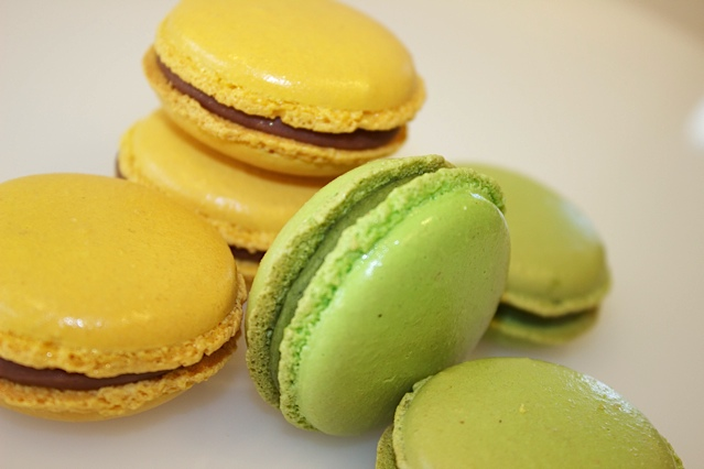Learn how to make pumpkin macarons in our (3 hour) class today!