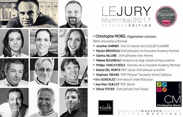I am in Montréal, Canada for the week being a judge for Concours Macaron Amateur!  #Repost @concours_macaron_amateur with @repostapp ・・・ Nous avons le plaisir de vous présenter le magnifique JURY réuni par Christophe MOREL  @cmorelchocolatier pour la 2ème édition du #ConcoursMacaronAmateur de #MONTRÉAL CE SAMEDI 25 Février ! @chefjonathangarnier @myriam.brosseau @melboudreau  @phvancayseele @rolanddelmonte @stephanetreand @chef_ericgonzalez @o.potier  #christophemorel #montreal #montréal #montrealfood #montrealfoodie  #montrealpastry #concours #macaron #quebec #québec #chocolat #chocolatier  @mtlenlumiere #mtlenlumiere @so_montreal @mtlfooddivas @montreall  @tastemontreal @foodiesmtl
