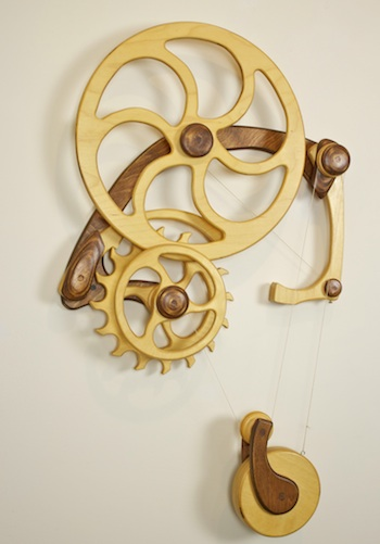 Inventor Released A Simple Kinetic Sculpture David C Roy