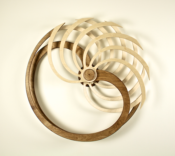Nautilus Kinetic Sculpture by David C. Roy