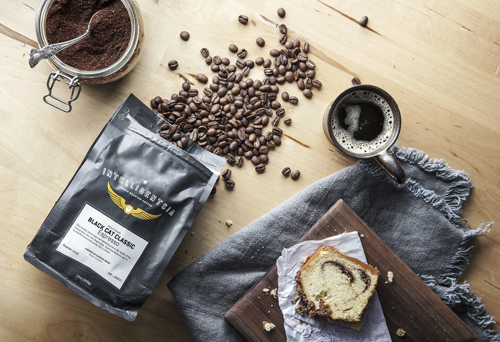 food lifestyle photography of coffee