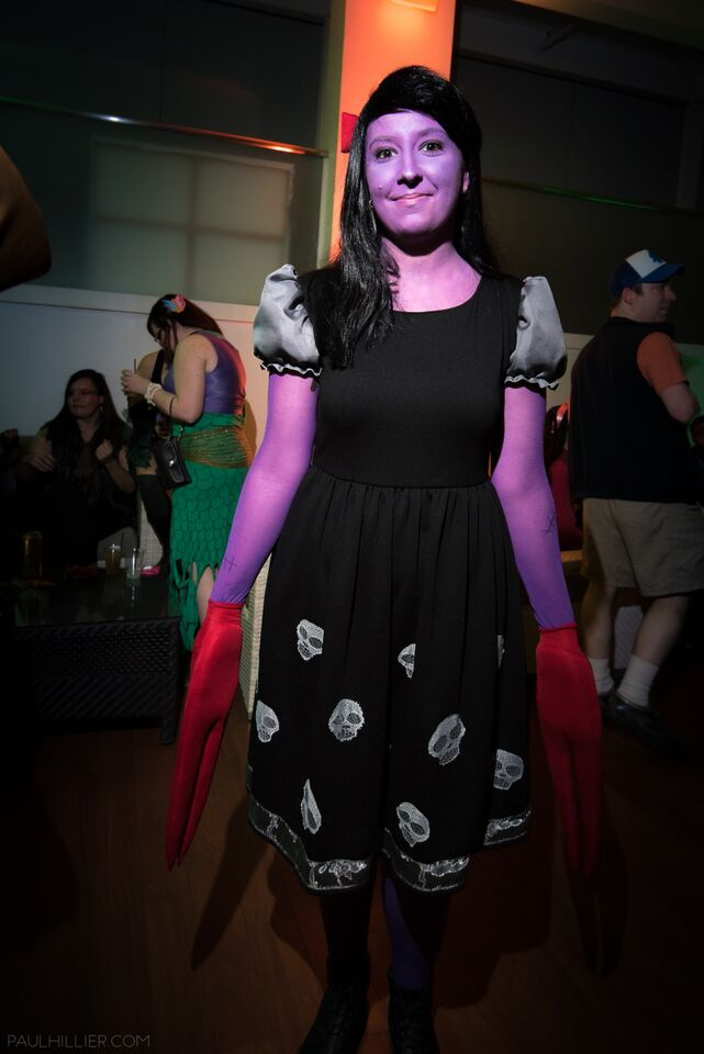 The Clawed Girl at Snailoween 2015