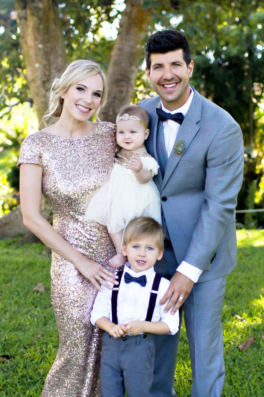 The Rubino Family: Lindsey, Michael,Christian & Annelise