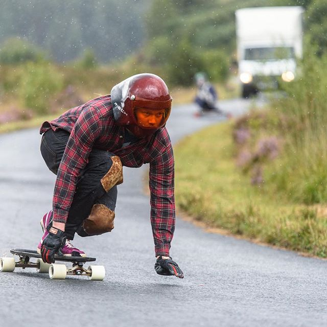 Oh hey look at that turns out the workshop wizard has ridden a skateboard before! #boardlogic #zenith #longboard #longboarding #ronintrucks #cultwheels #rischdesign #flannelfriday #flannellife #flannellove