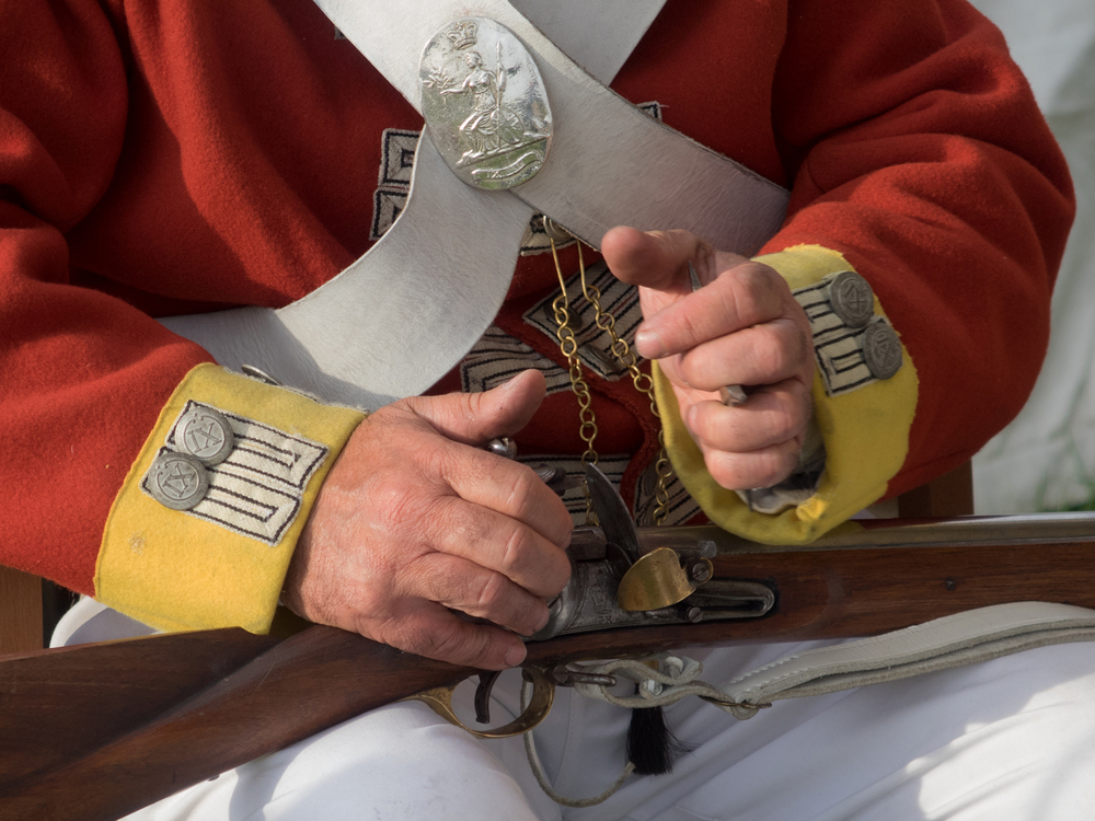 My Trusty Flintlock by Clive Williams