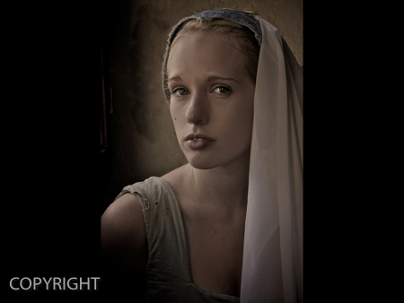 GIRL BEFORE THE PEARL EARRING by Stephen Miller.jpg