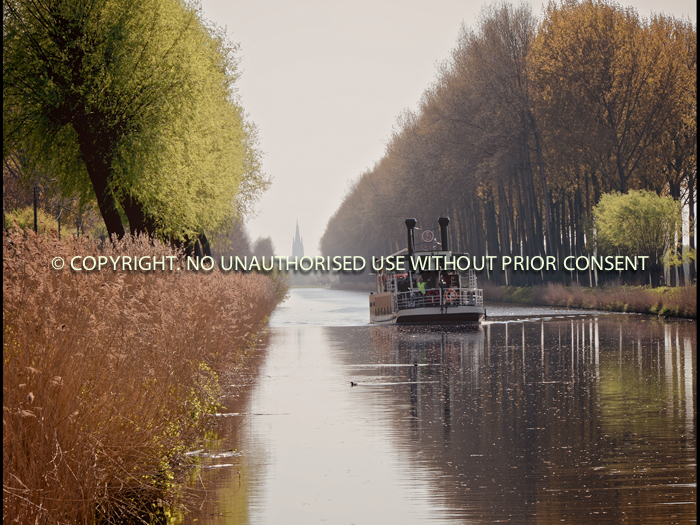 BRUGES FROM DAMME by Stephen Miller.jpg