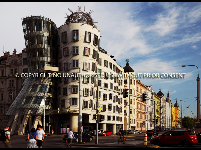 DANCING HOUSE IN PRAGUE by Ian Mellor.jpg