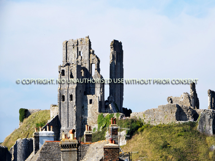 CORFE CASTLE by Peter Fortune.jpg