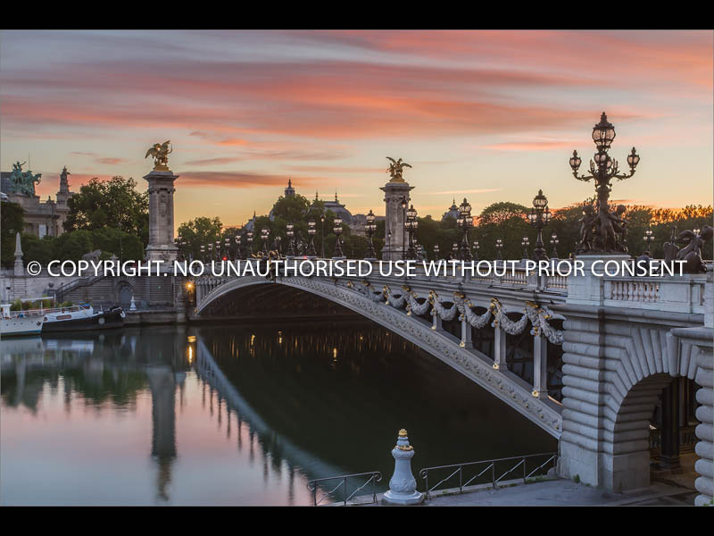 SUNRISE AT PONT ALEXANDRE III by Jamie White.jpg