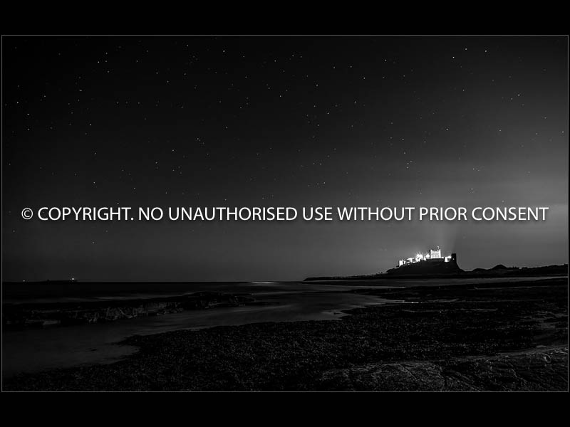 BAMBURGH CASTLE AT NIGHT by Jamie White.jpg