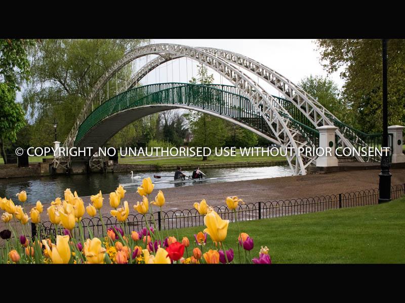 SUSPENSION BRIDGE - BEDFORD by Clive Williams.jpg